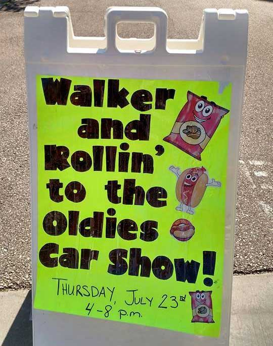 Walker and Rollin' Car Show